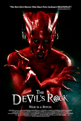 The Devil's Rock 2011 poster cover