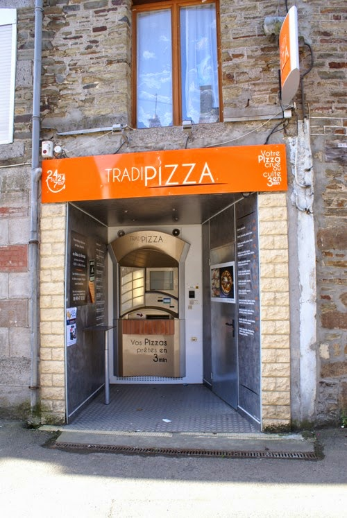 Pizza from the Wall?