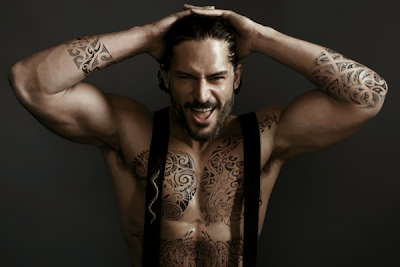 Joe Manganiello Maori Style Tattoo