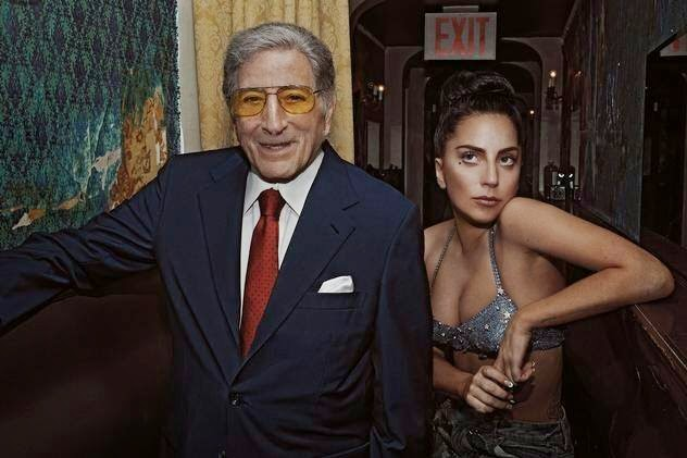 Lady Gaga y Tony Bennett para Cheek To Cheek