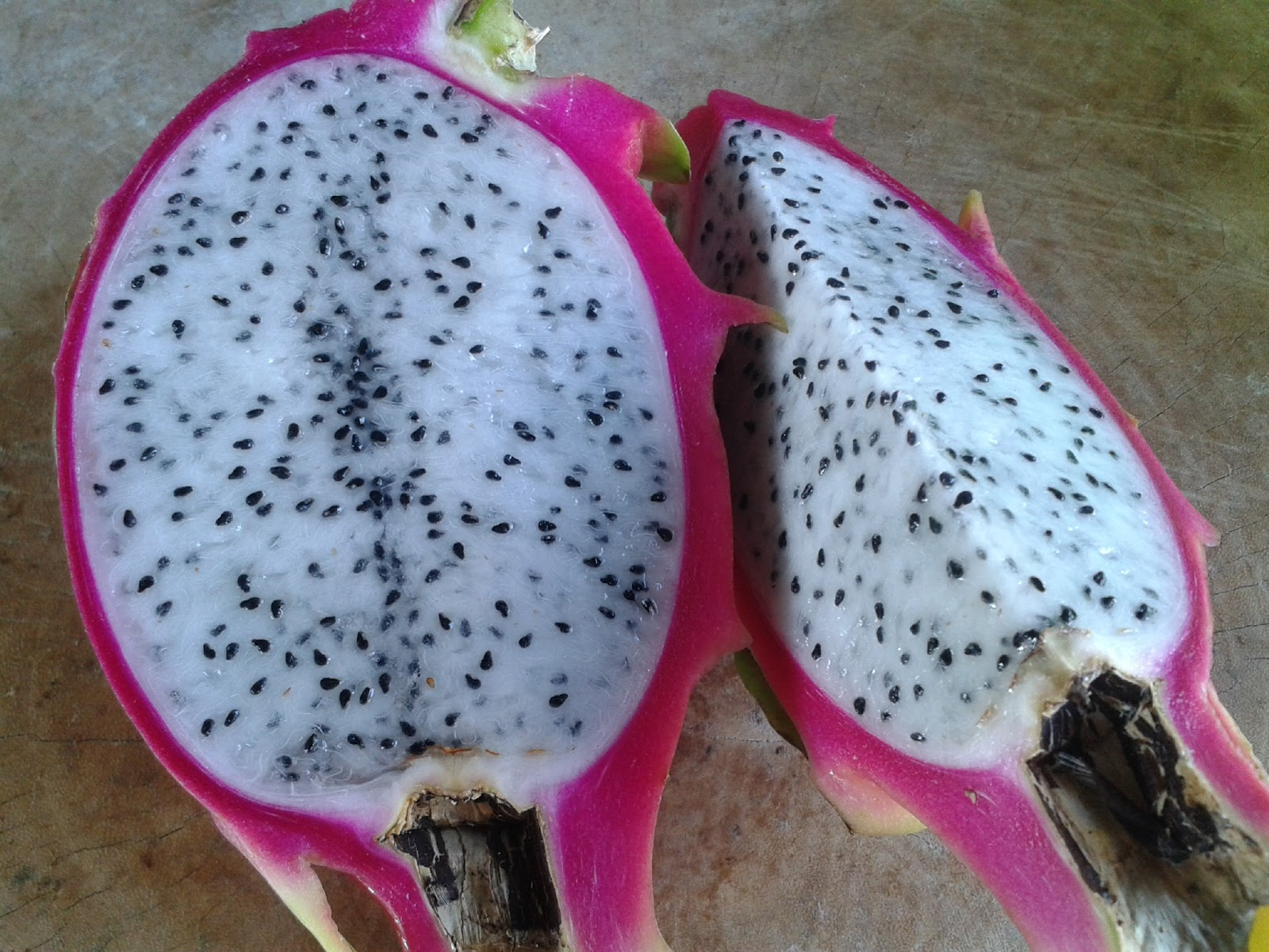 Pulp Of White Dragon Fruit