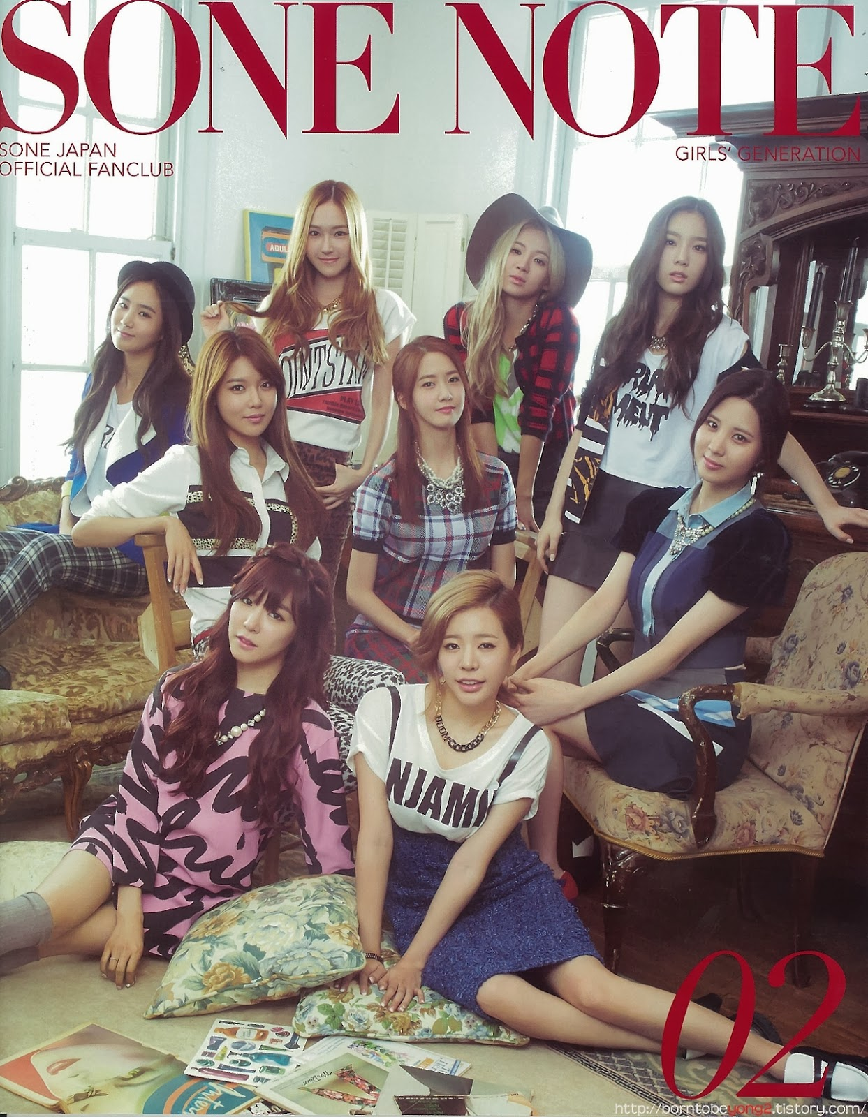 Girls' Generation SNSD - Sone Note Magazine Vol.2