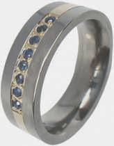 anel com significado das bodas de safira