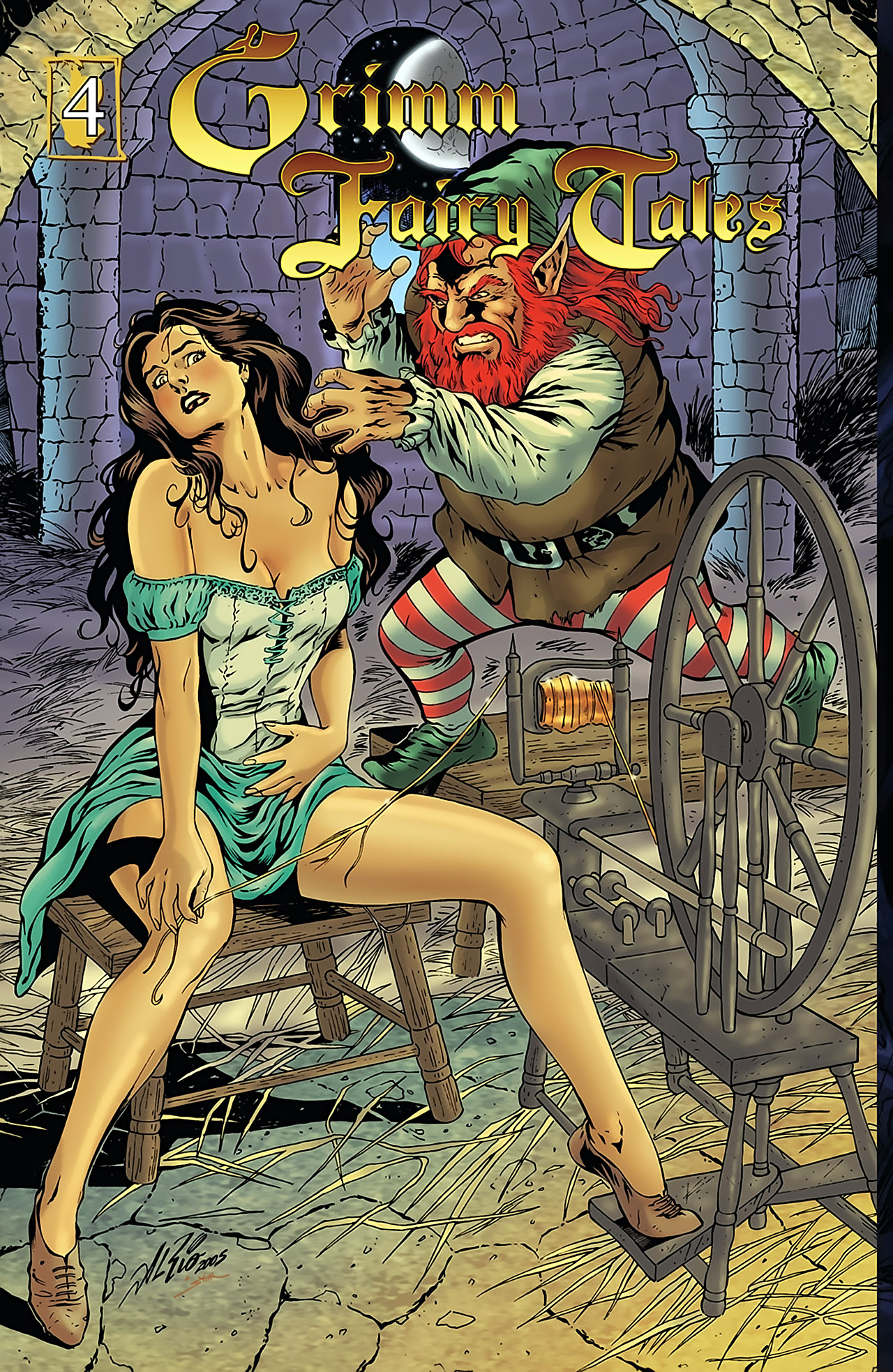Grimm Fairy Tales (2005) Issue #4 #7 - English 1