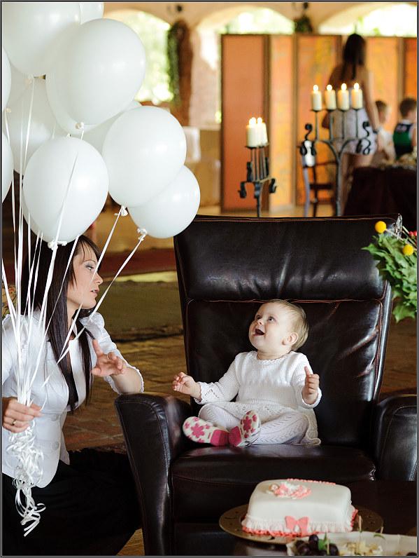 nepakartojamos krikštynos su balionais