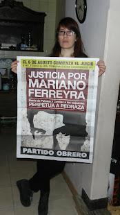 MARÍA CAROLINA LÓPEZ, ESTILISTA, TAMBIÉN QUIERE JUSTICIA POR MARIANO