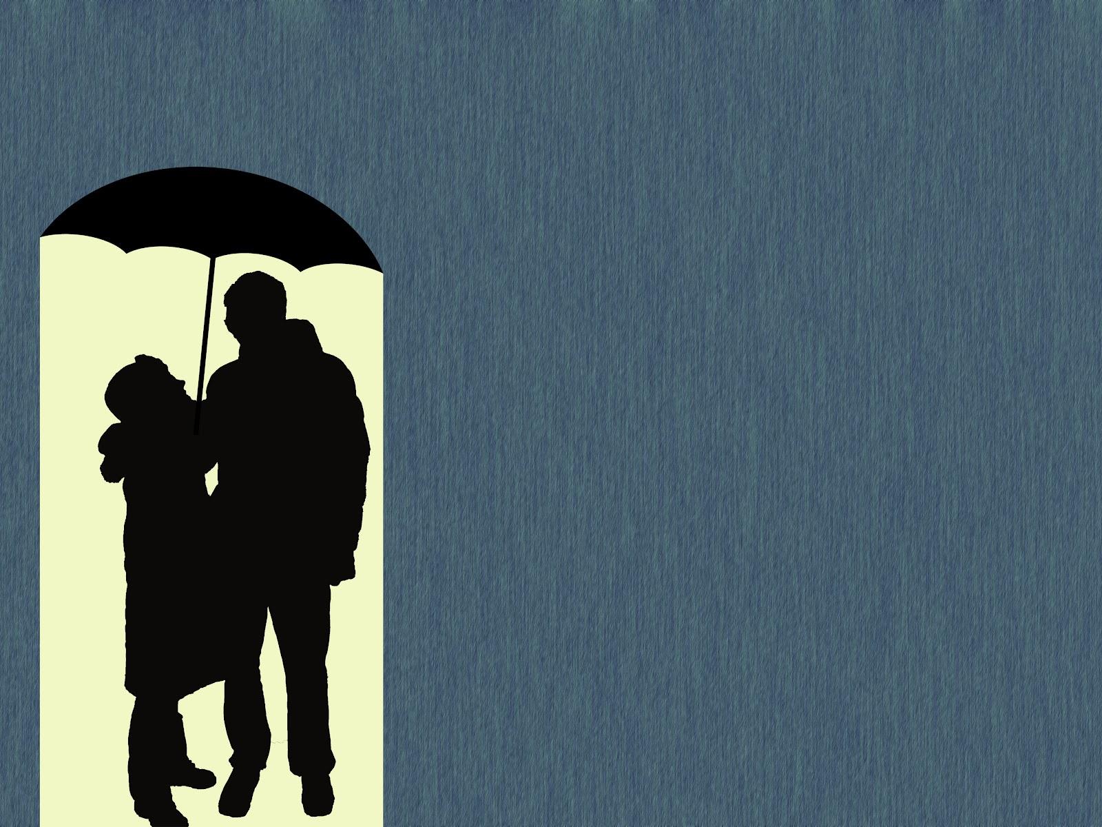 ☂ under my white umbrella.
