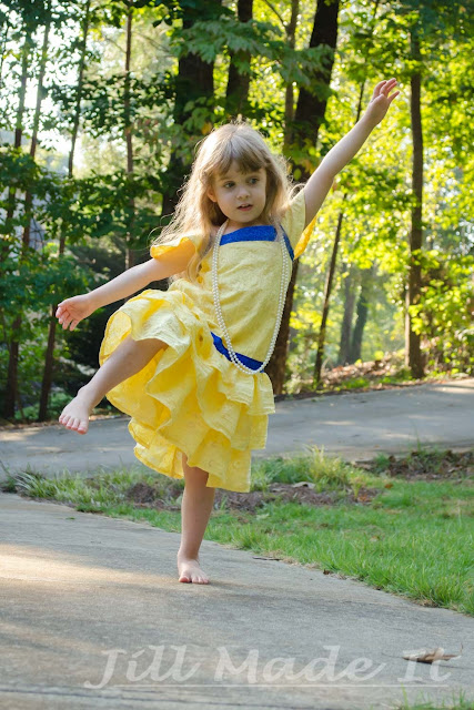 Jill Made It:  My Little Girl Dancing in Her New Dress