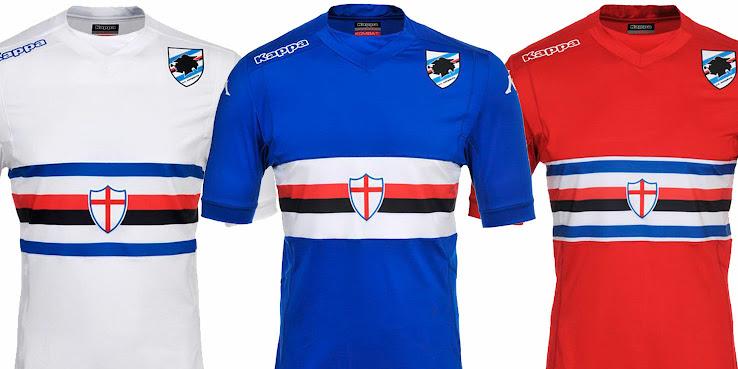 Maillots [2014-2015] - Page 2 Sampdoria+14-15+Kits