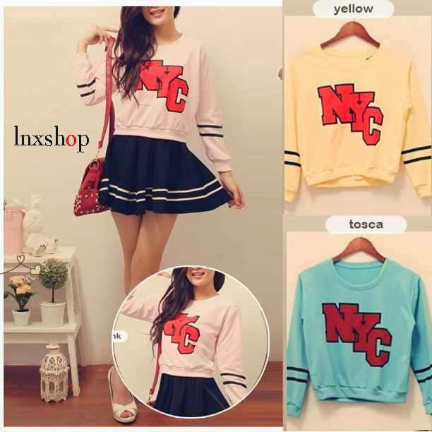 sweater nyc, sweater lucu banget, sweater terbaru 2014, supplier baju tanah abang