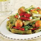 taze bakla salatası , taze bakla salatası tarifi , bakla salatası tarifleri