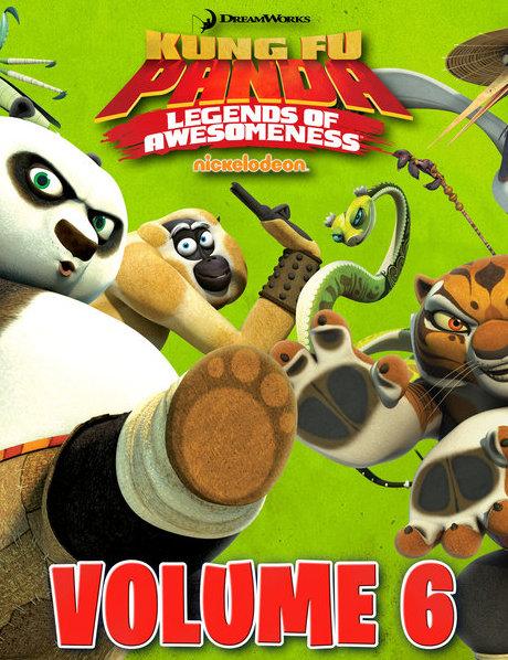 Kung Fu Panda: Legends Of Awesomeness Vol.6 : กังฟูแพนด้า ตำนานปรมาจารย์สุโค่ย! ชุด 6