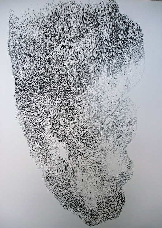 Fusain / papier 100 x 75 2012