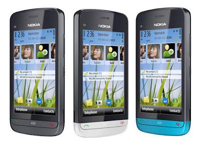 new Nokia C5-03
