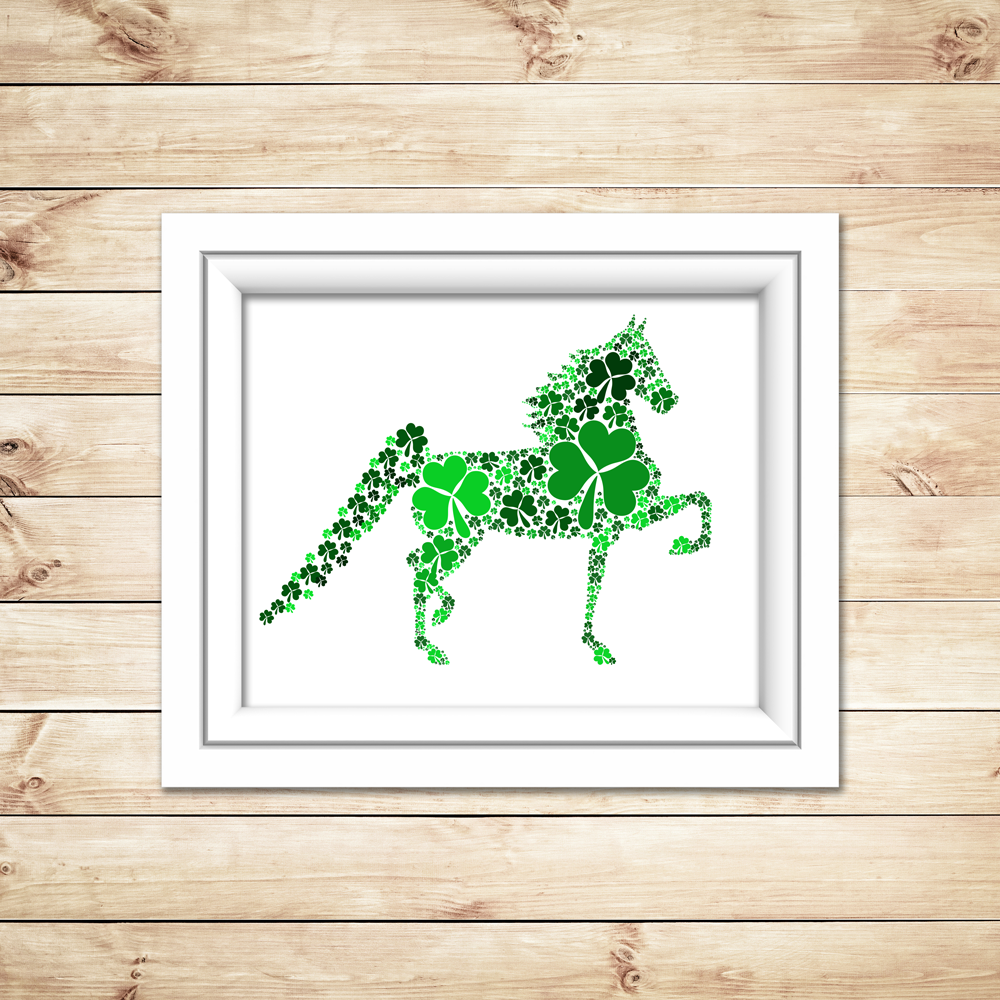 Saddlebred Horse Printable Art