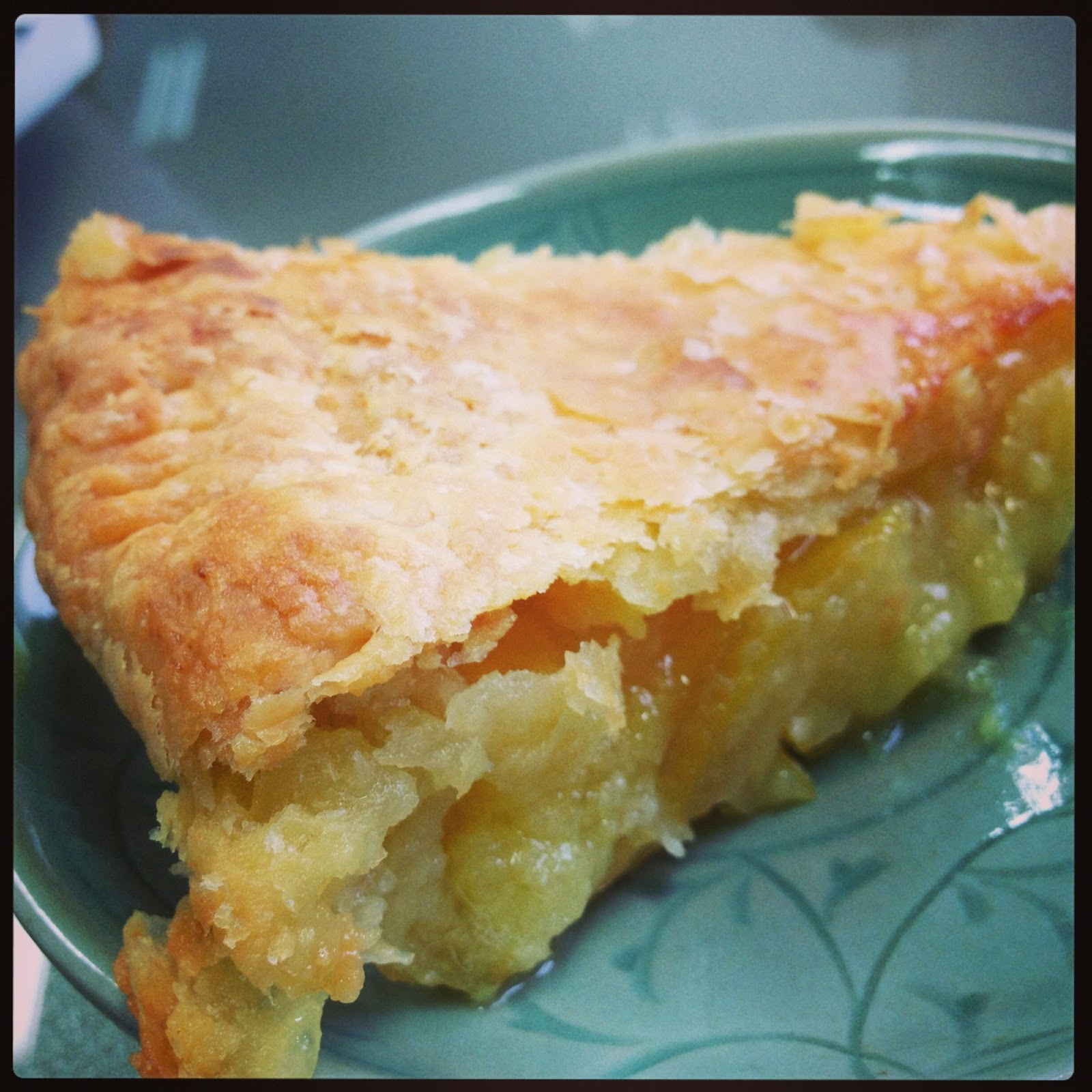 Shaker Lemon Pie Recipe — Dishmaps