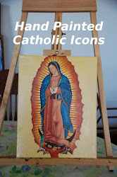 Angels and Saints Catholic Icons for sale