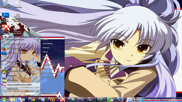 [ Theme Win 7 ] Angel Beats 1