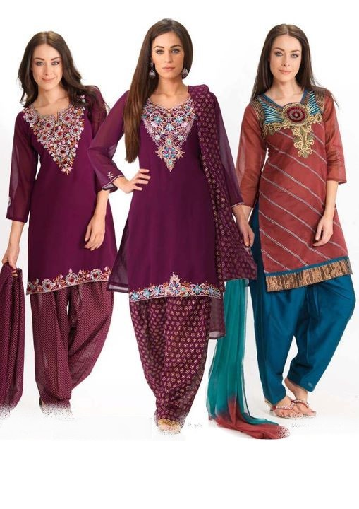 Punjabi Dress Neck Designs Here you can see neck designs