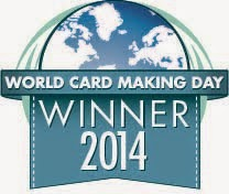 World Card Making Day 2104 Winner!