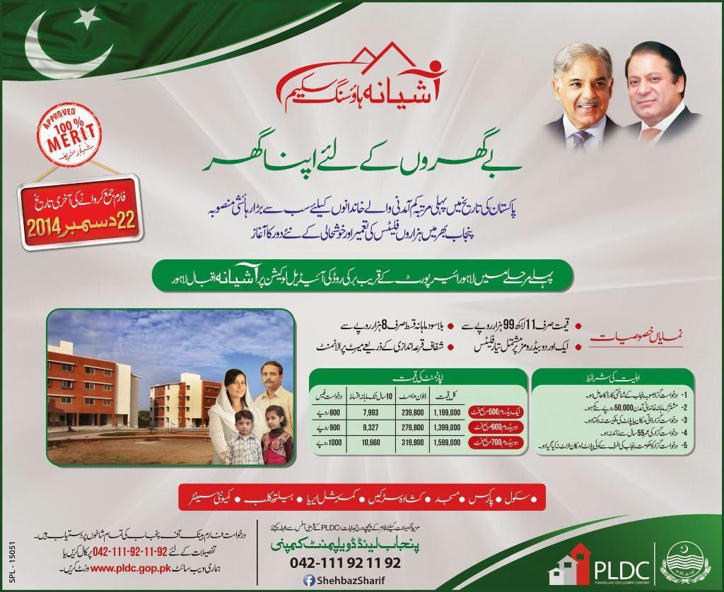 Ashiana Iqbal Housing Scheme Lahore 2014 Price