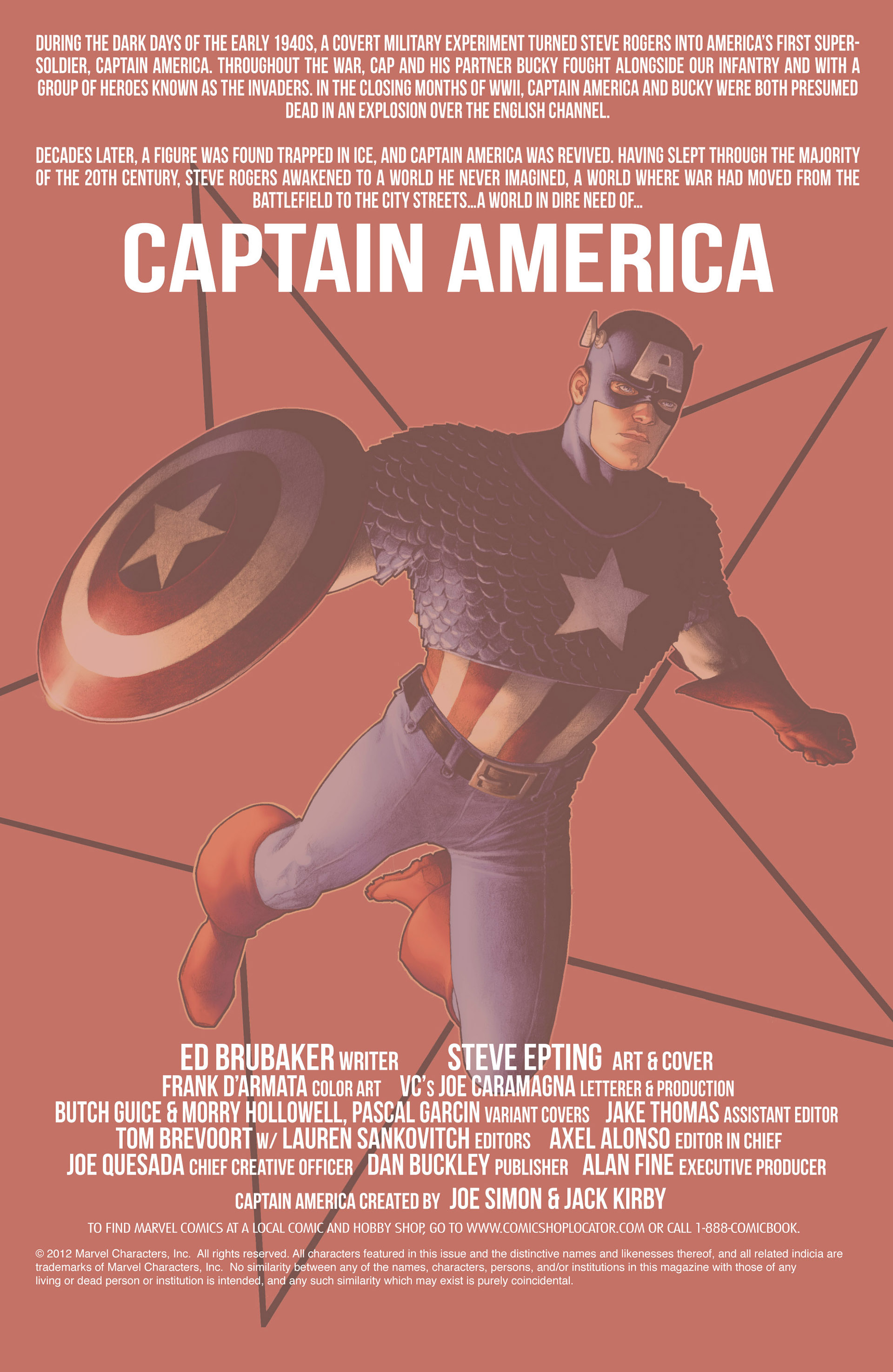 Captain America (2011) Issue #19 #19 - English 21