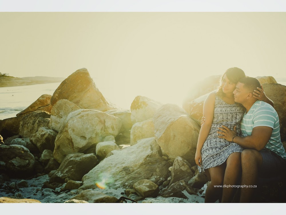 DK Photography LASTWEB-068 Robyn & Angelo's Engagement Shoot on Llandudno Beach { Windhoek to Cape Town }  Cape Town Wedding photographer