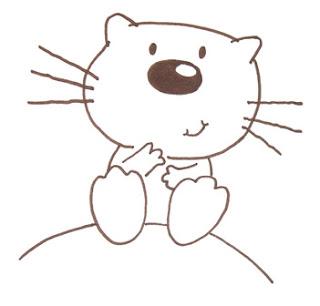 рисунок котенок