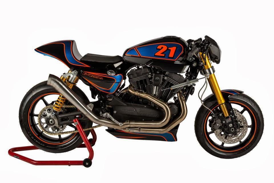 racing caf harley xr 1200 xr h dls by shaw speed custom. Black Bedroom Furniture Sets. Home Design Ideas
