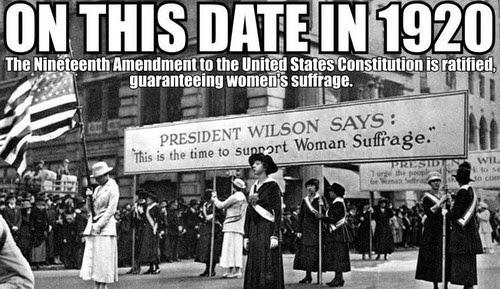 19th amendment date