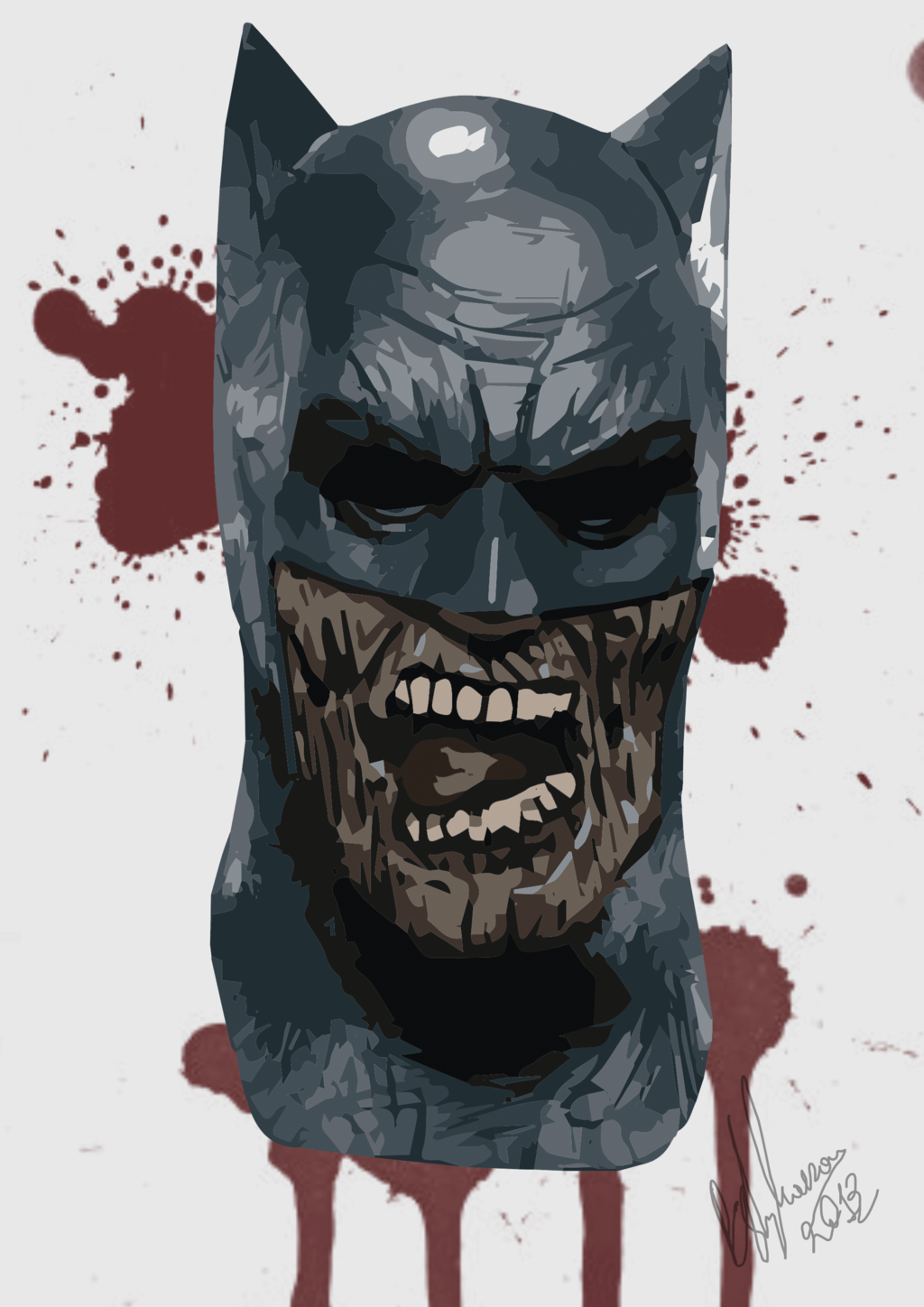 Zombie Batman Comic The Dork Review: Rob's...