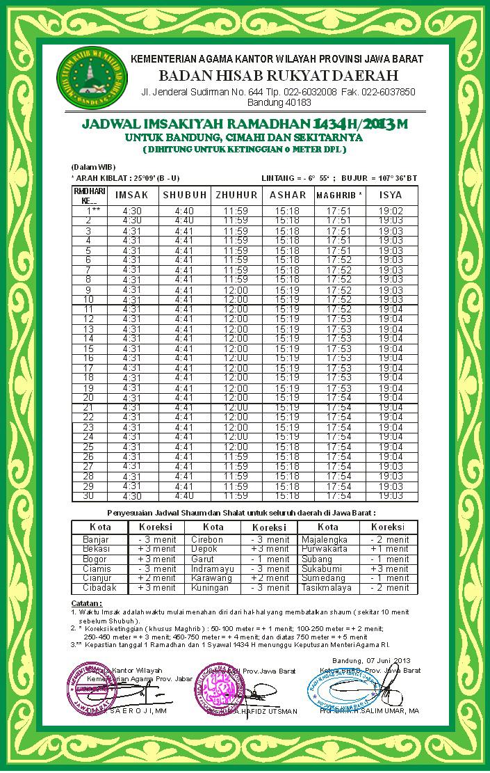 Jadwal Puasa Ramadhan 2013 Dan Imsakiyah Ramadhan 1434 H Apps