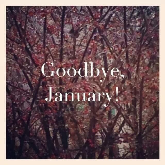 Goodbye January '14