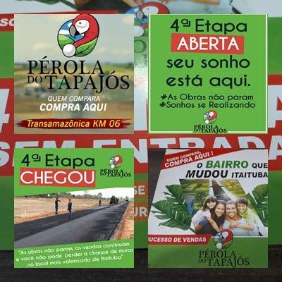 RESIDENCIAL PÉROLA DO TAPAJÓS- ITAITUBA- PA