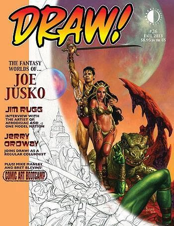 DRAW! Magazine NO. 26 ON SALE NOW!