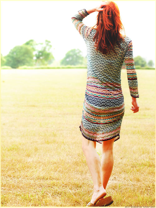 Psynopsis Missoni Knit Dress