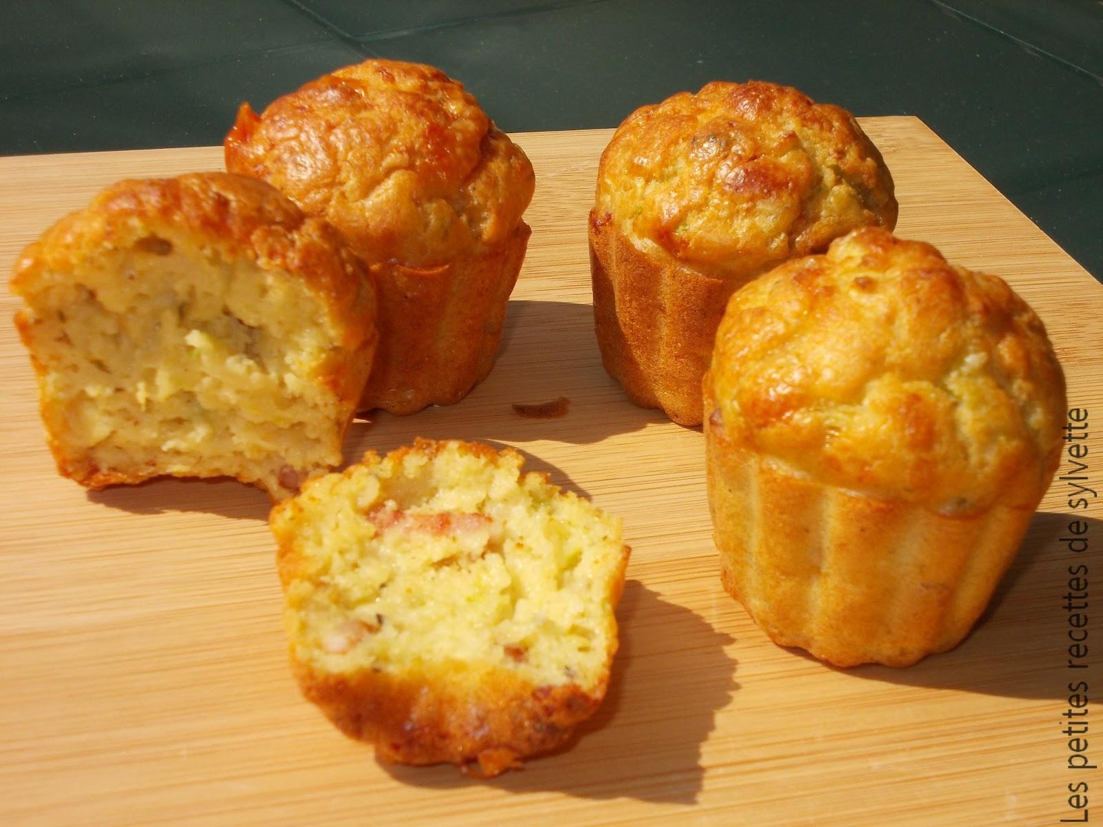 Cake Courgette Parmesan Lardon