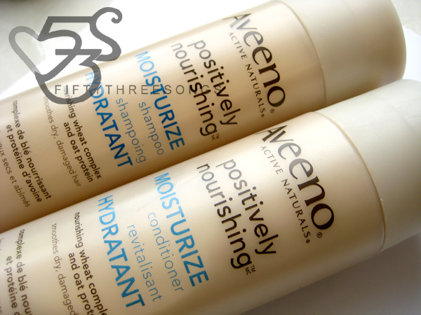 AVEENO NOURISH+ MOISTURIZE Shampoo and Conditioner