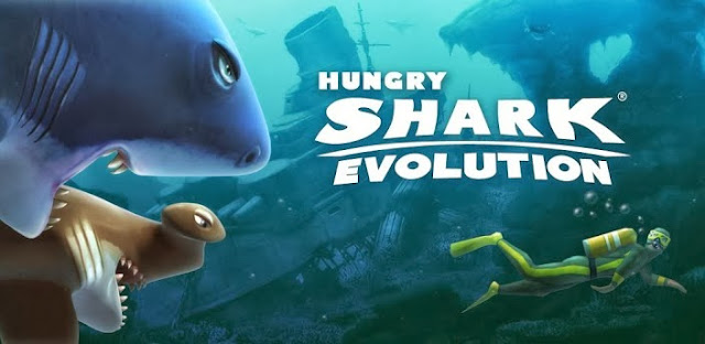 Hungry Shark Evolution v2.1.1 [Para/Elmas Hilesi] Full İndir
