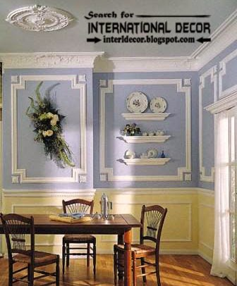 Decorative luxurious wall molding designs ideas and panels