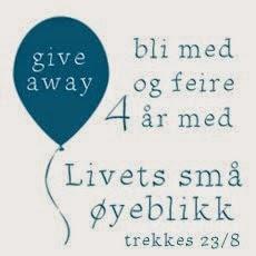 Give away hos Livets små øyeblikk