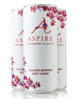 Aspire Drinks Calorie Burning Soft Drink Cranberry