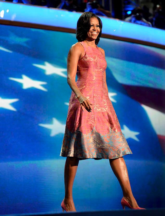Michelle Obama's Dress Ann Romney's Dress
