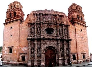 Lugares para visitar en Zacatecas