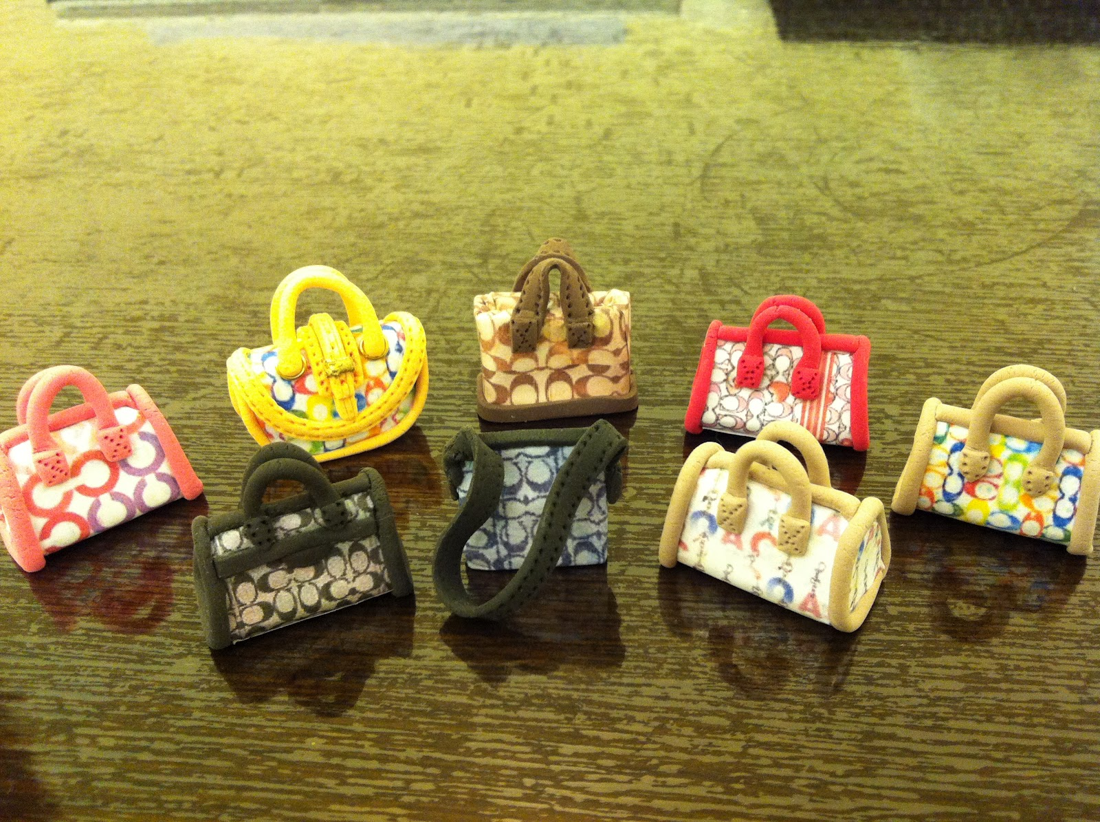 My paper clay projects designer handbags part 4 for Paper clay projects