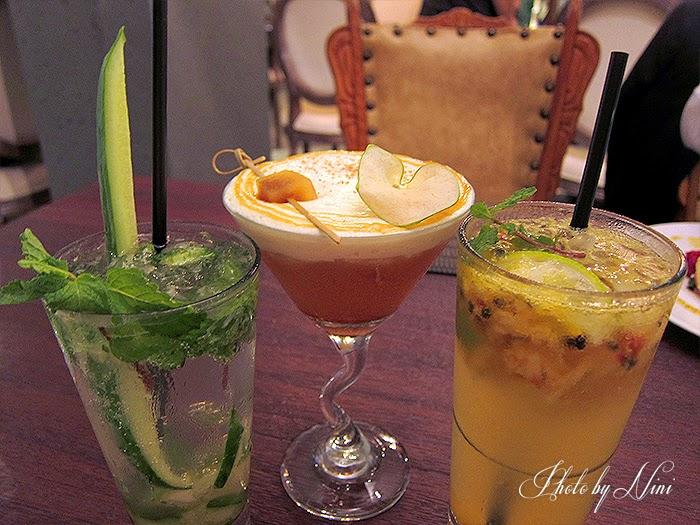 【台北東區新餐廳】 A COMMUNITY Restaurant & Bar。小黃瓜摩吉多,焦糖蘋果派,蜜桃百香果蘇打