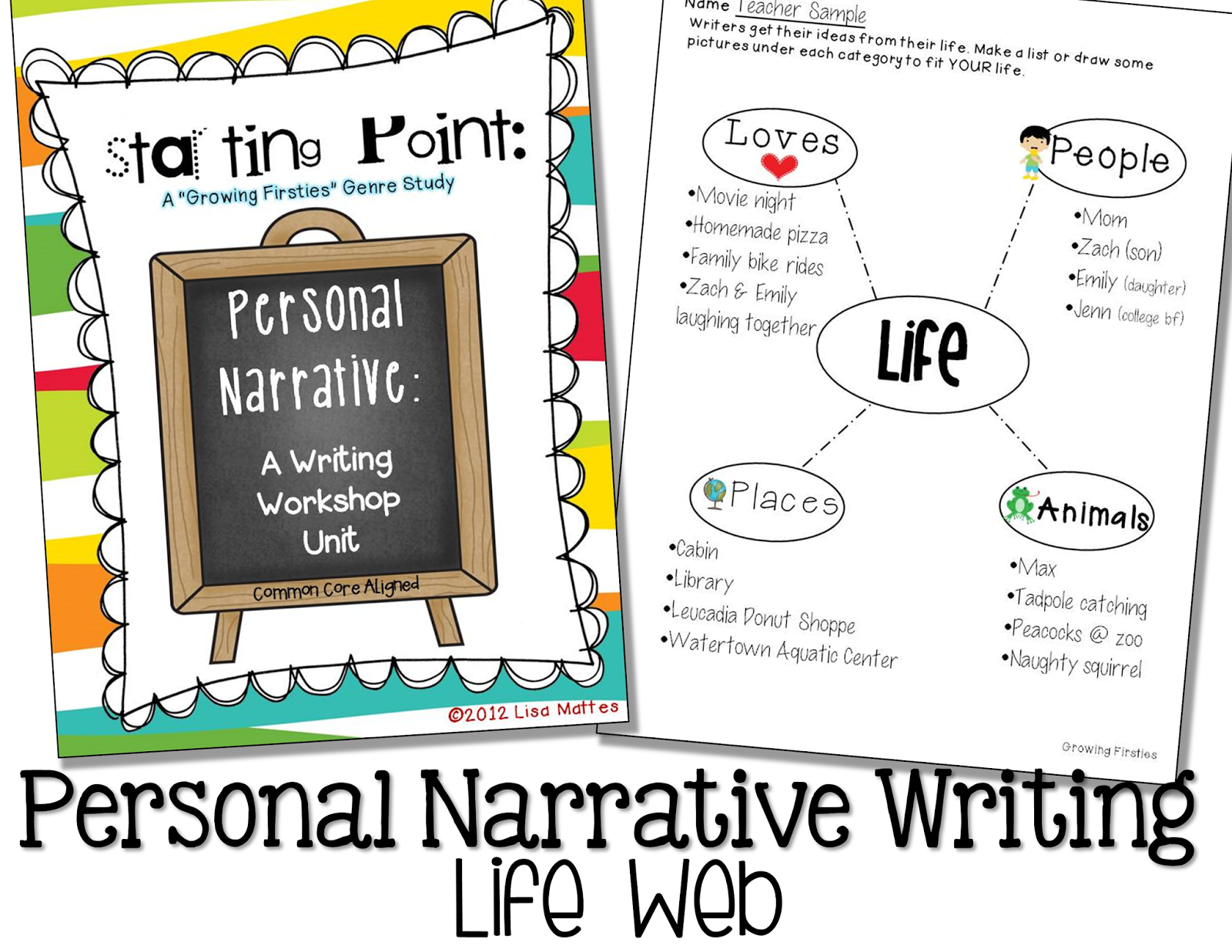 an personal narrative about teachers in ones life Personal narrative is typically the easiest as responsive teachers children who share are the ones the teacher has had individual.