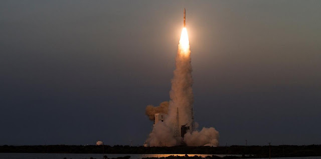 A Delta IV rocket lifts off carrying the seventh Wideband Global SATCOM satellite for the U.S. Air Force. Credit: ULA