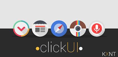 Click UI Go Apex Nova theme