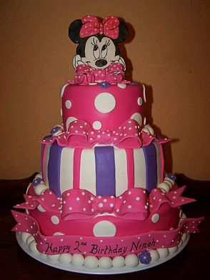 Minnie Mouse Birthday Cake Ideas